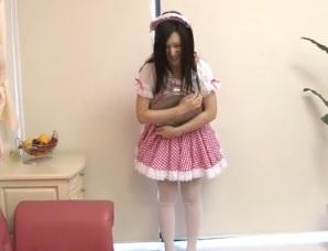 古川いおりはんなり笑顔の癒し系黒髪美女FC2動画