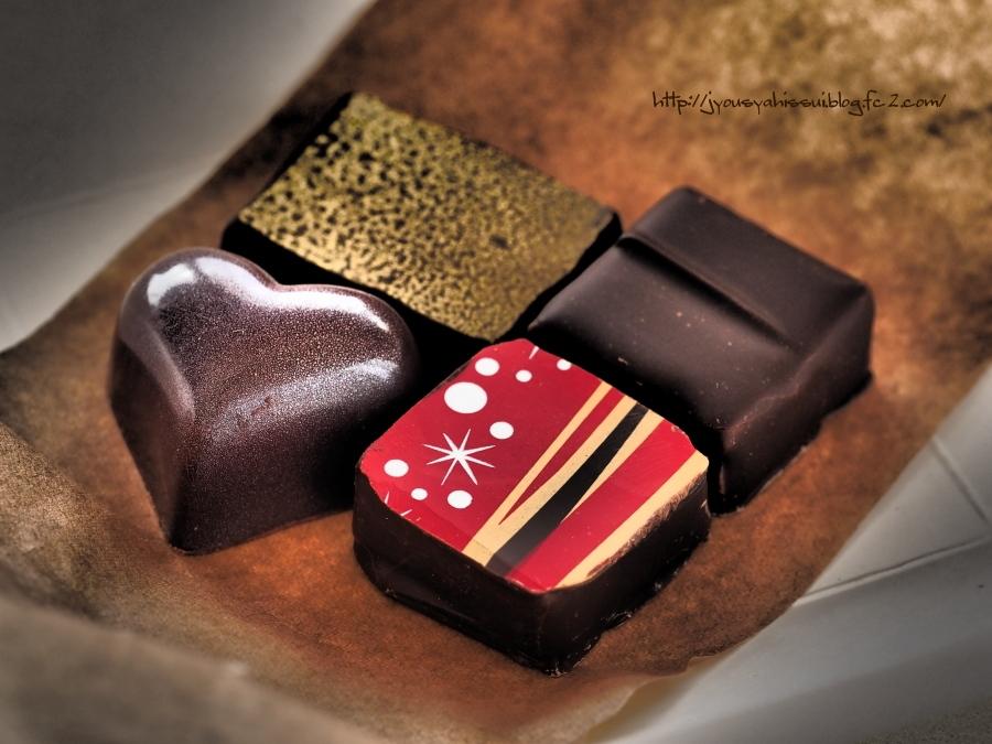 チョコ4種