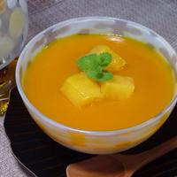 マンゴーの杏仁豆腐