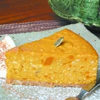 南瓜とバナナのチーズケーキ