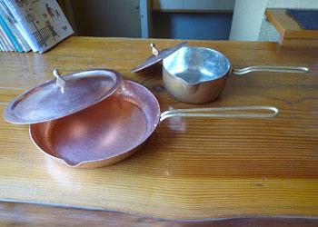水野特注蓋付パン・鍋