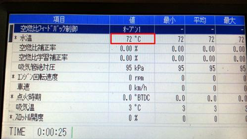 ワゴンR 水温センサー02