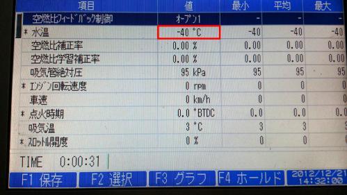 ワゴンR 水温センサー03