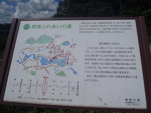 自宅~津久井湖~高尾H24.8 129