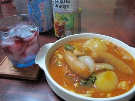 野菜とソーセージのトマト煮