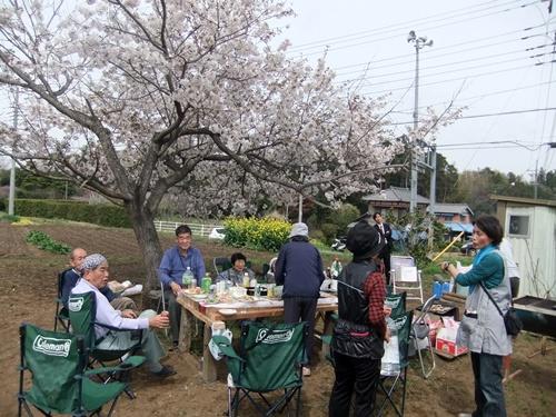 2013.3.29 桜花見会(戸倉農園) 019