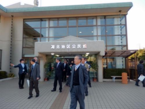2014.1.17 我孫子公民館視察(我孫子市) 020