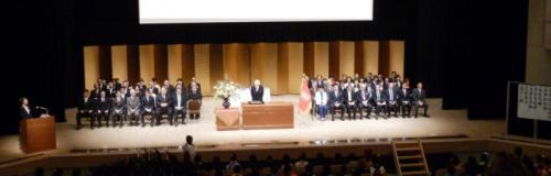 01卒業式
