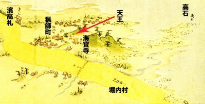 浦賀道:須賀神社付近