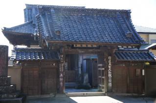 浦賀道(鎌倉):上行寺山門