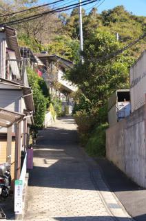 浦賀道(鎌倉):名越坂登り口