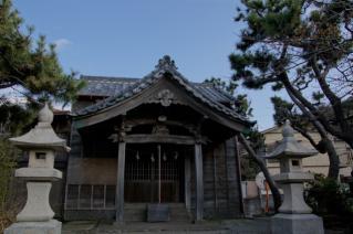 浦賀道(戸塚):鐙摺須賀神社