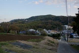 浦賀道(戸塚):新善光寺前からの眺め