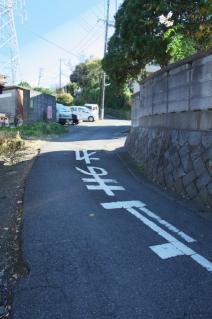 浦賀道(戸塚):高祖坂の道祖神への道