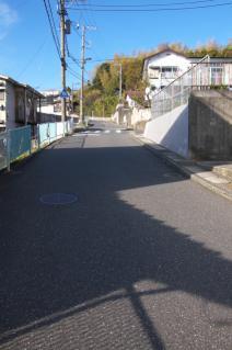 浦賀道(戸塚):阿部倉トンネル付近の坂