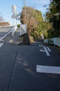 浦賀道(戸塚):池上小学校付近の坂