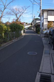浦賀道(戸塚):見取絵図で「伝馬場坂」とされる坂