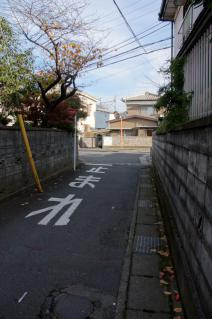 浦賀道(戸塚):金谷交差点付近