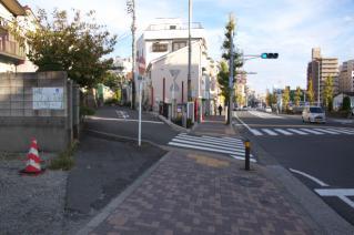 浦賀道(戸塚):金谷・県道27号から逸れる地点