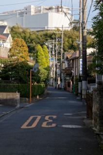 浦賀道(戸塚):金谷・県道から分岐した浦賀道