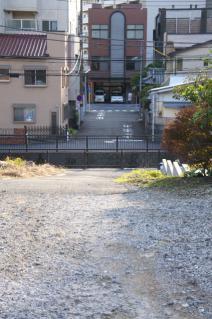 浦賀道(戸塚):金谷・浦賀道から下平川を見下ろす
