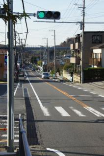浦賀道(戸塚):大楠山登山口交差点-1