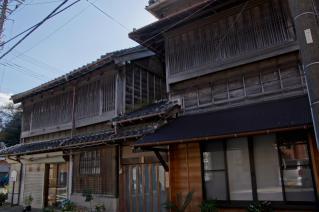浦賀:廻船問屋跡の商家