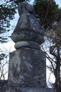 浦賀:燈明崎の慰安碑