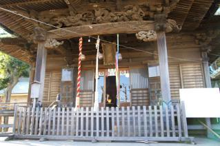 浦賀:西叶神社拝殿