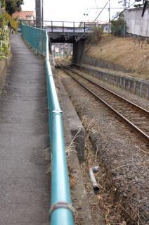 旧東海道:JR相模線との立体交差-2