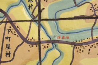 旧東海道:旧相模川橋脚解説模型から-4