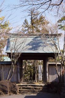橋本・香福寺山門