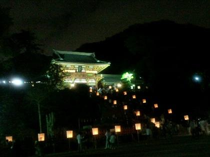 2012鎌倉ぼんぼり祭り八幡宮