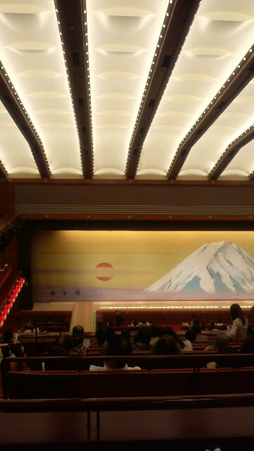 歌舞伎座3階