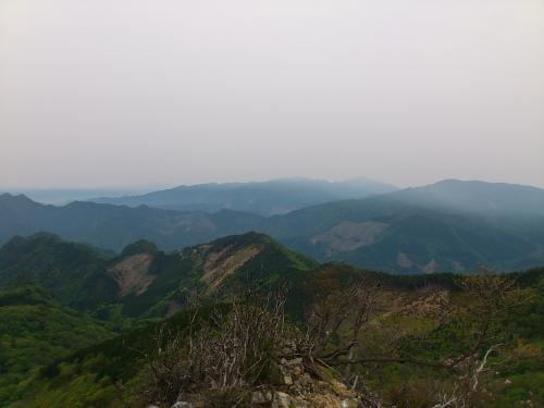 五葉岳 頂上より