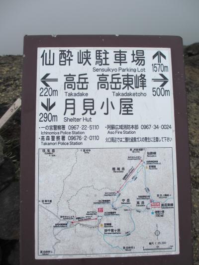 仙酔峡 分岐