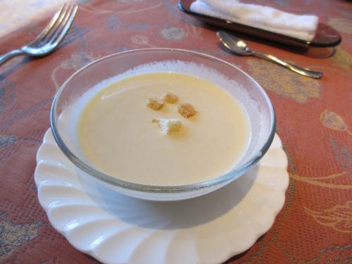 じゃがいの冷製スープ
