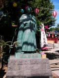 京急立会川駅 二十歳の龍馬像