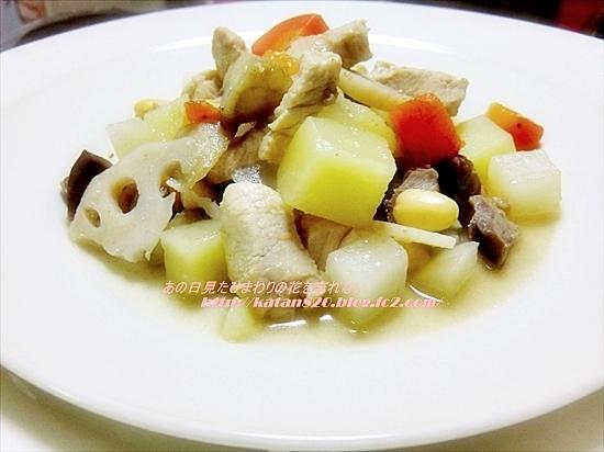 根菜と鶏肉の筑前煮風♪