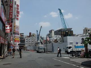 新宿東宝ビル建設