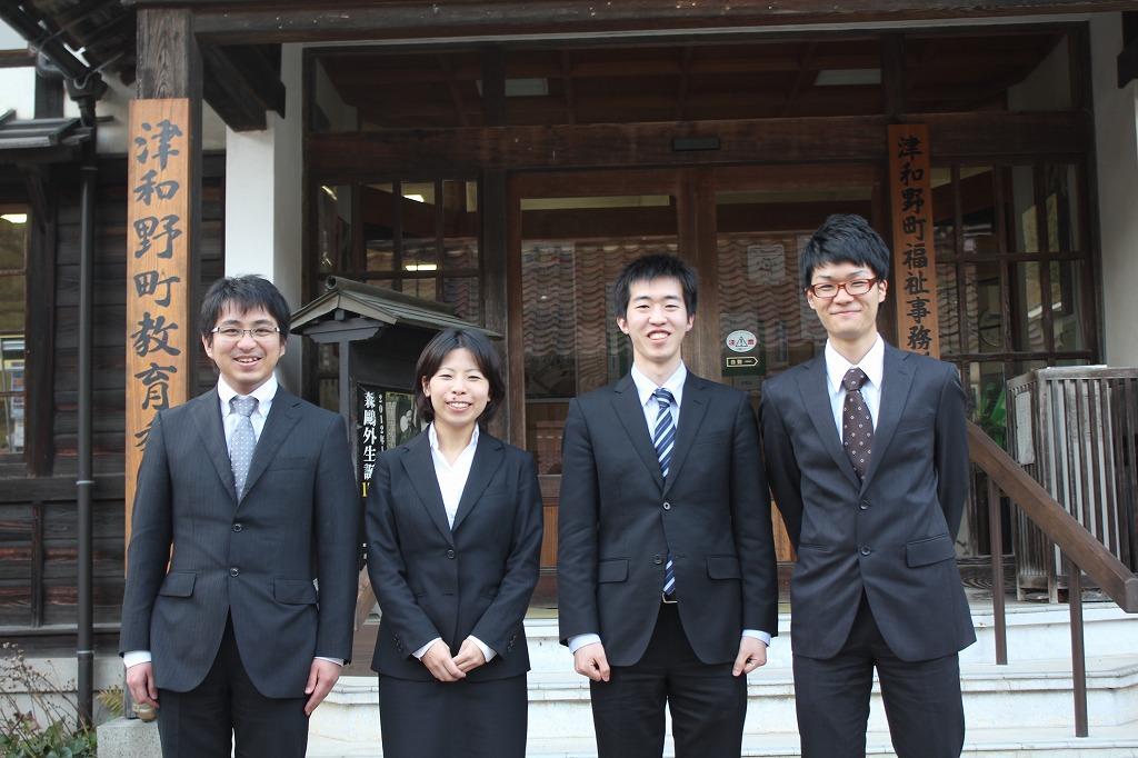 左から:畔柳、石川、坂和、福井