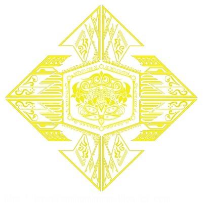 パールヴァティ用紋章「華央剛珠陣」