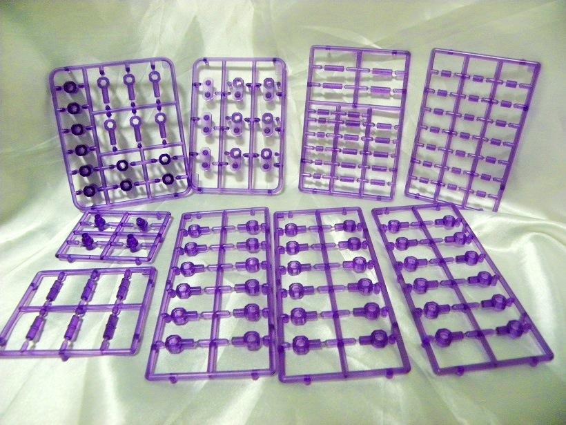 ランナー(紫クリア)
