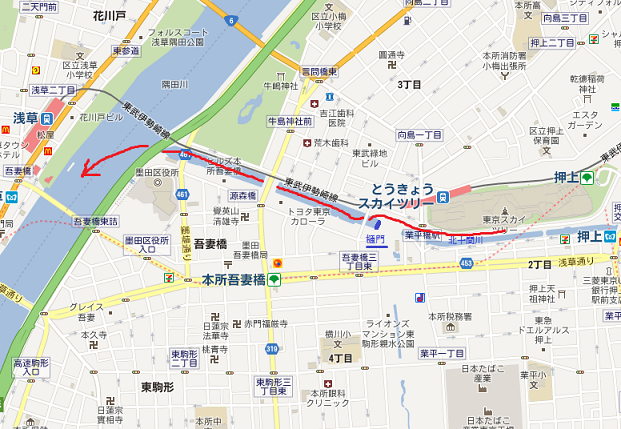 3skytree map