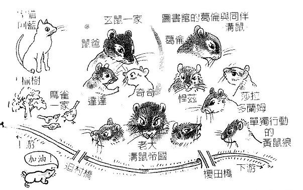 台湾語人物図 001