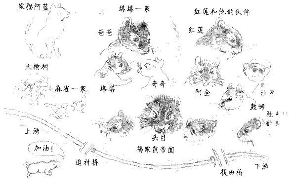 中国語人物図 001
