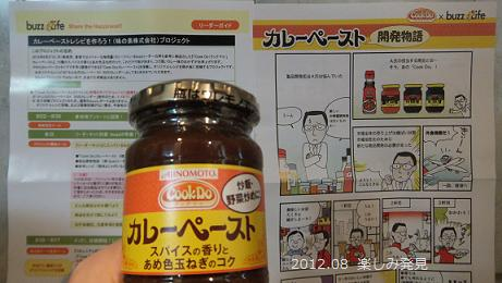 「Cook Do®」<カレーペースト>