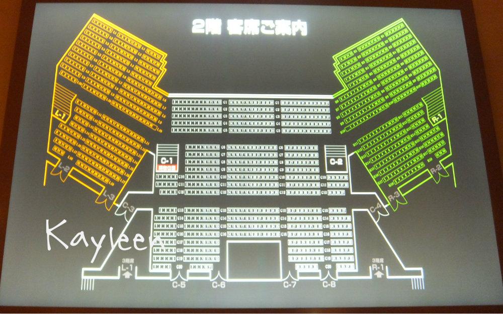 NHKホール2階