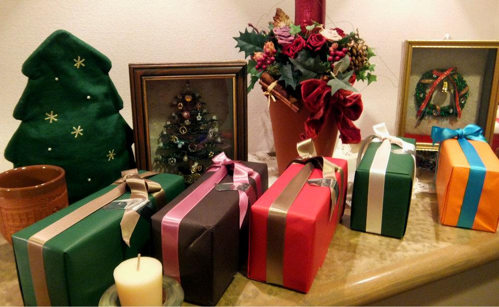 イデア クリスマスラッピング