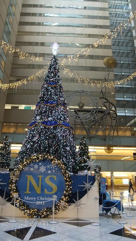 NSビル クリスマスツリー